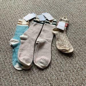 Free people socks bundle
